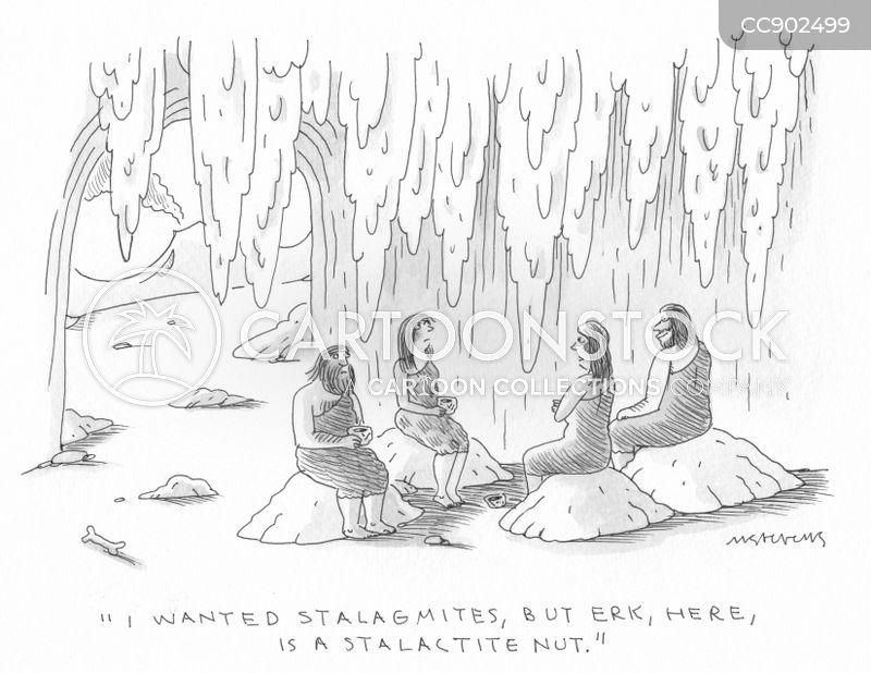 stalactites cartoon