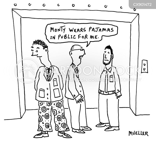 dressing cartoon
