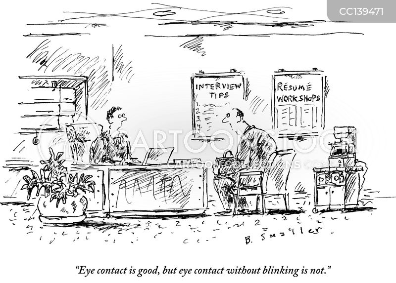staring contests cartoon