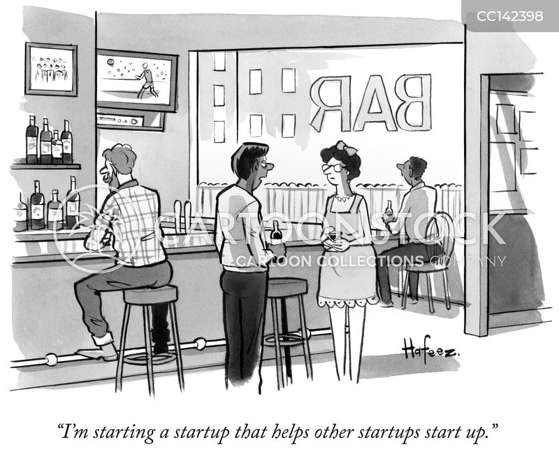 venture capital cartoon