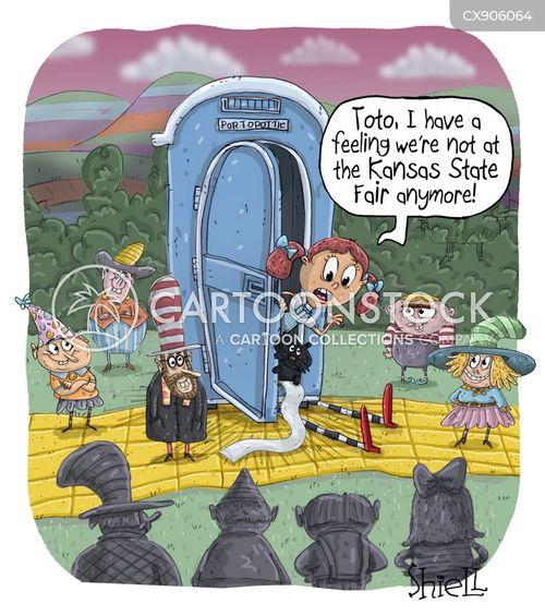 state fair cartoon
