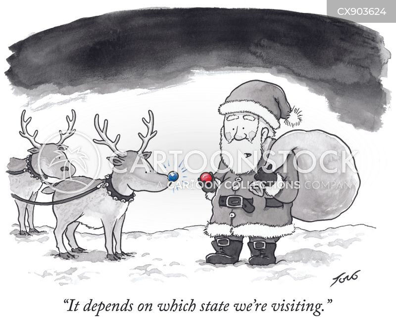 rudolph cartoon