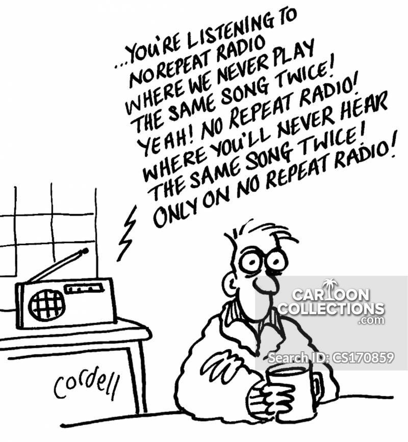 Morning Radio Cartoons And Comics Funny Pictures From Cartoon Collections