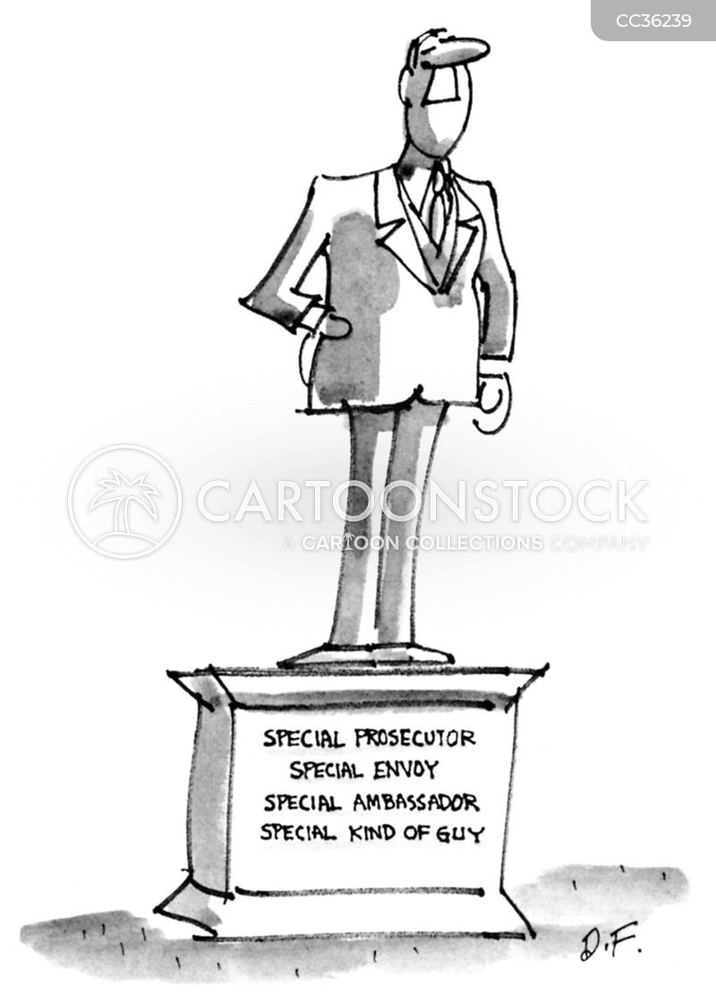 special ambassador cartoon
