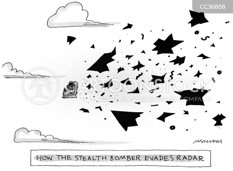 radar cartoon