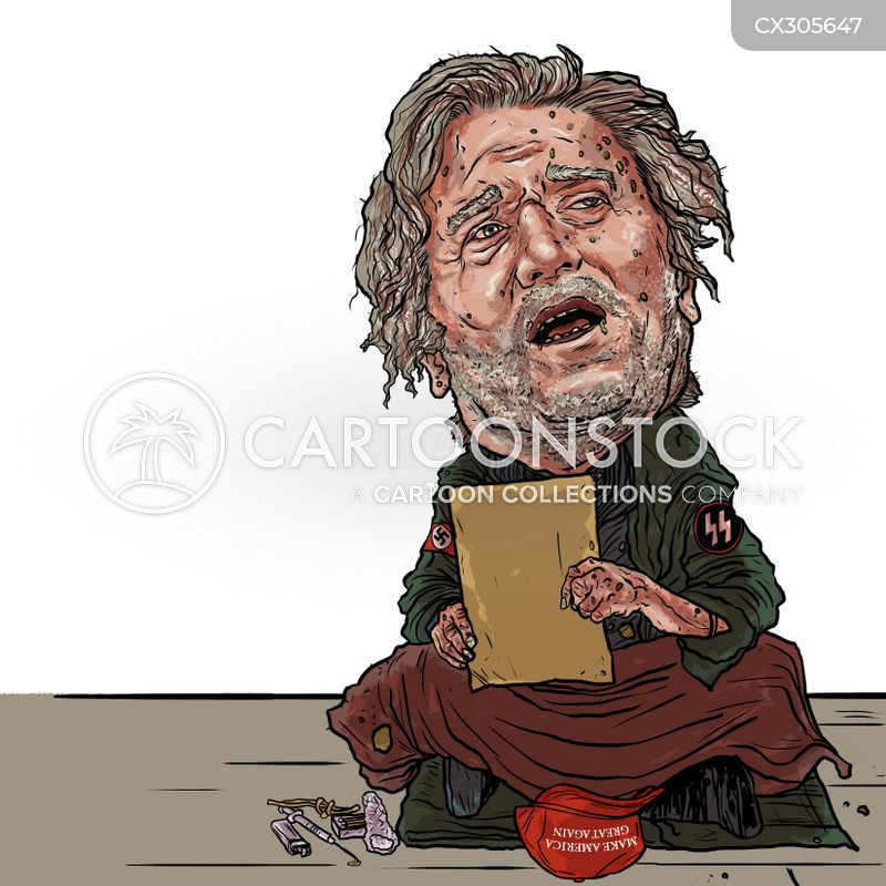 steve bannon cartoon