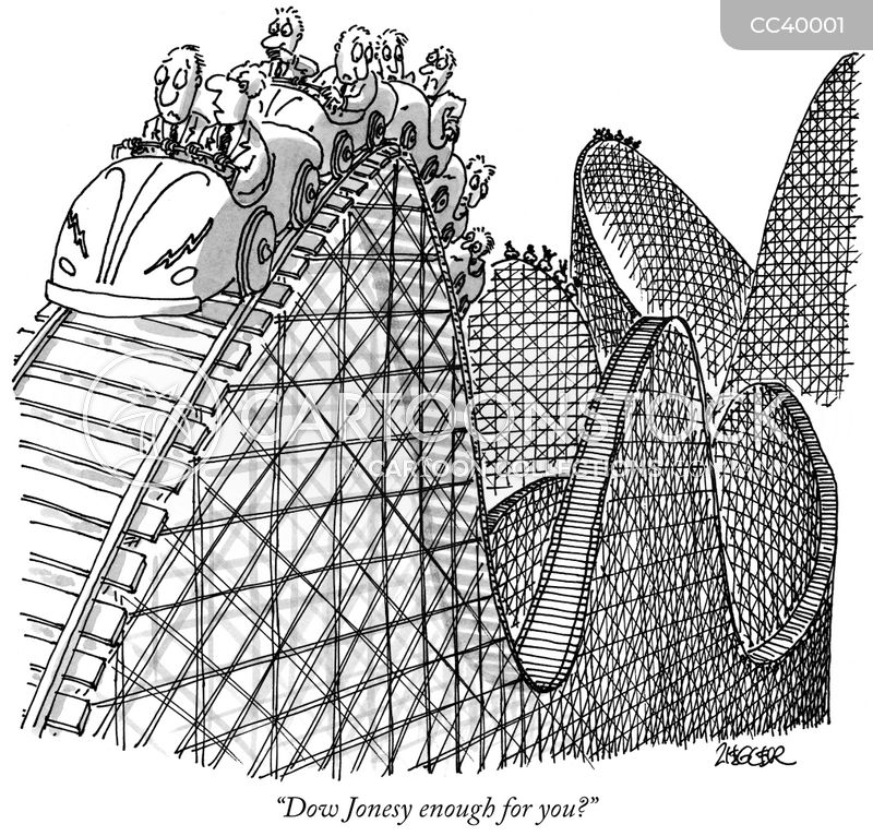 Rollercoaster Rides cartoon