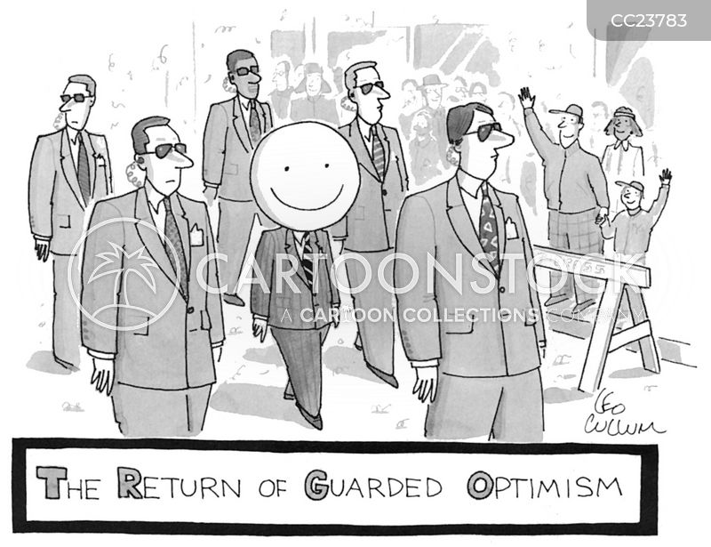 guarded optimism cartoon