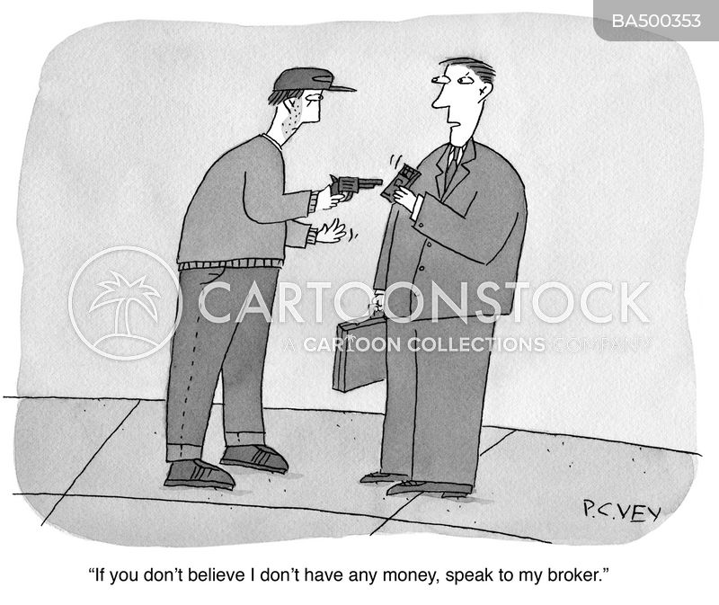 robbers cartoon