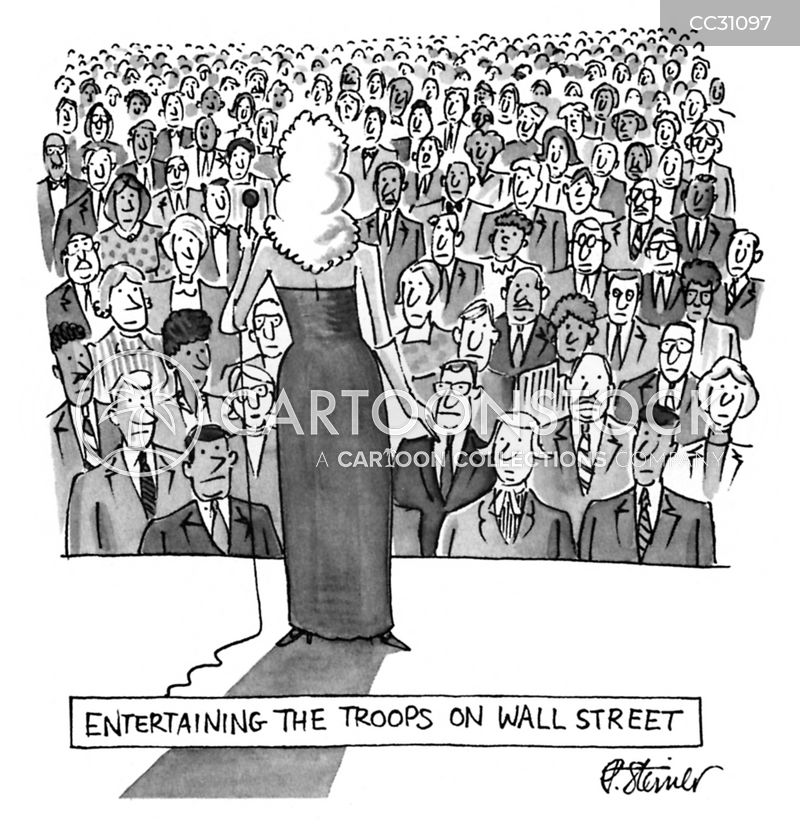 traders cartoon