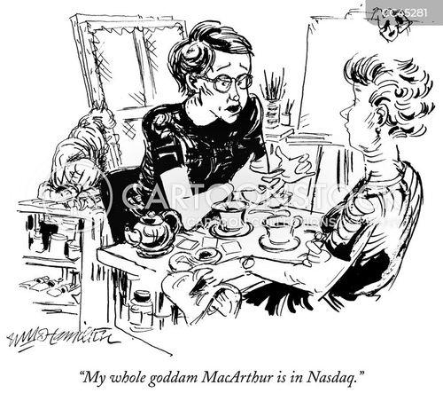 shareholders cartoon