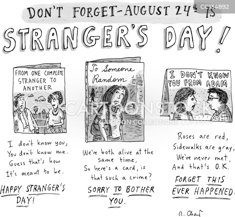 Strangers cartoon