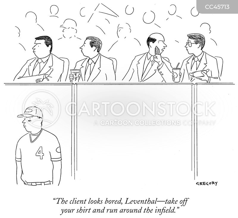baseball fans cartoon