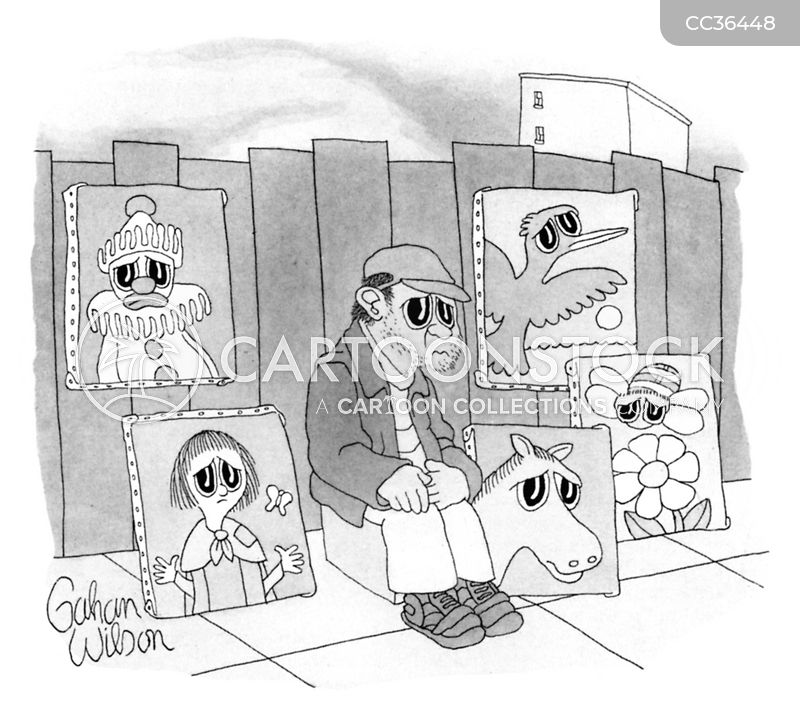 Beggars cartoon