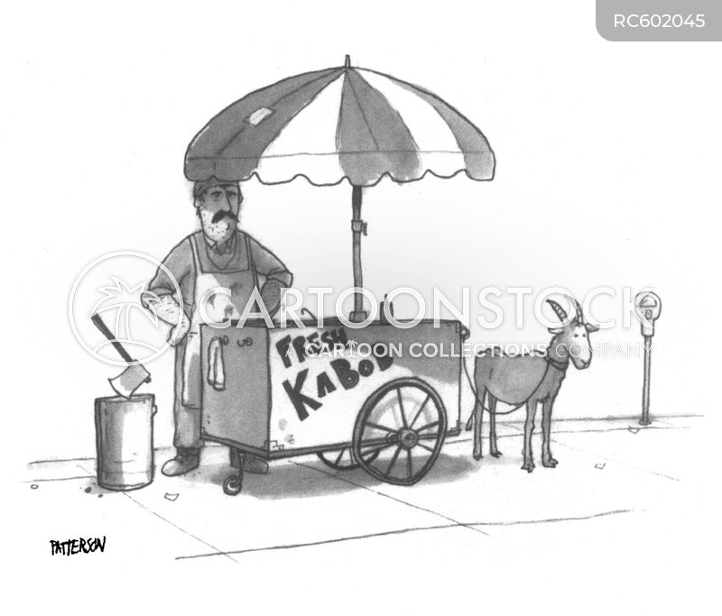 Kabobs cartoon