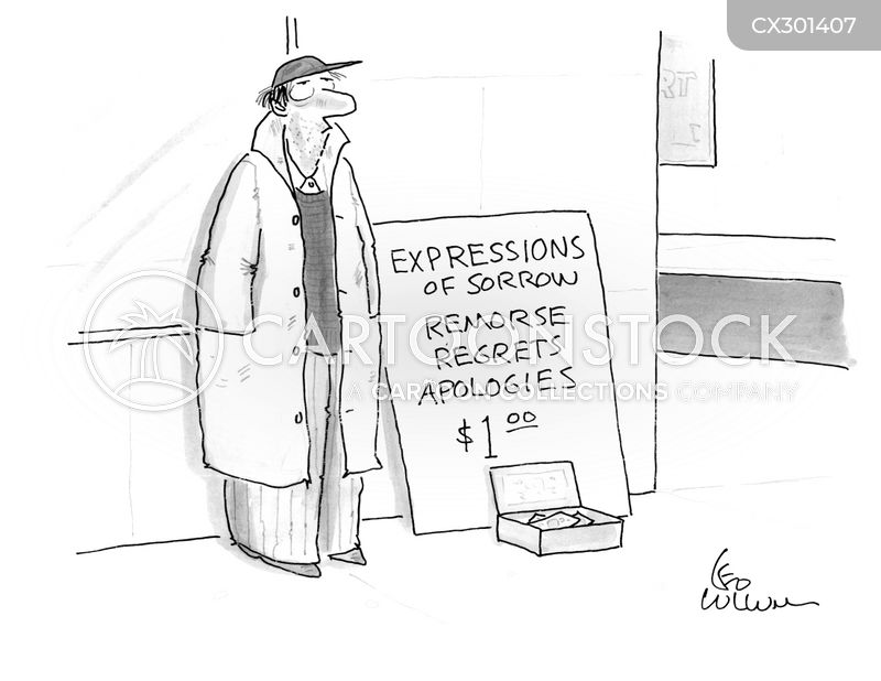 insincere cartoon