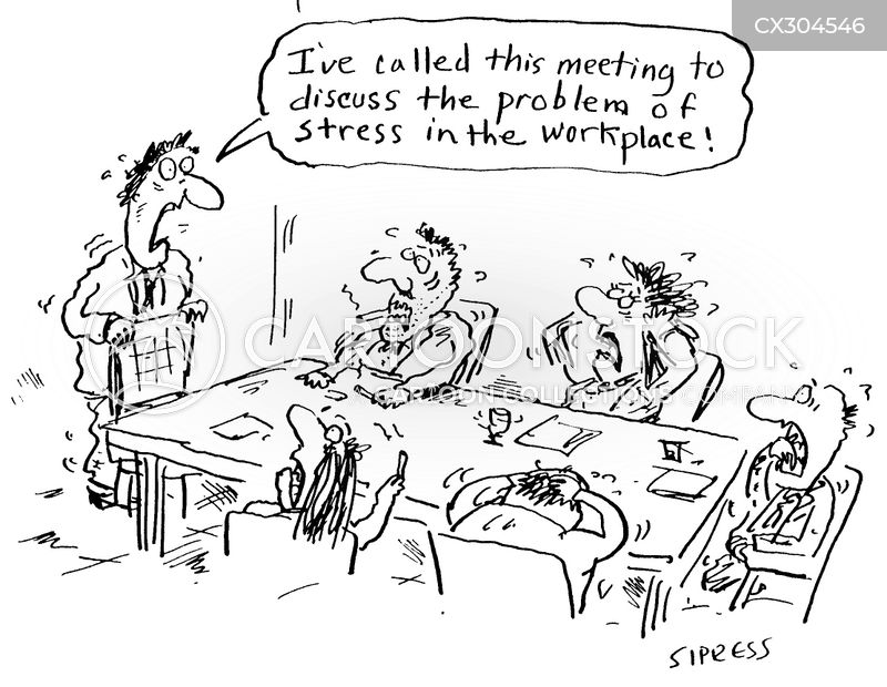 nerves cartoon