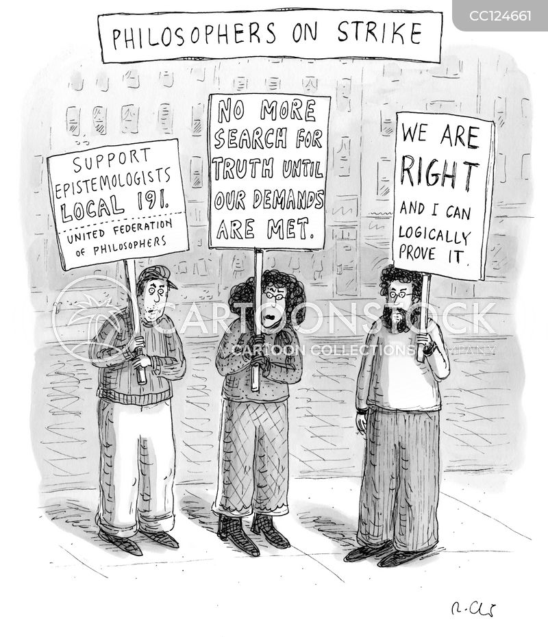 Protests cartoon