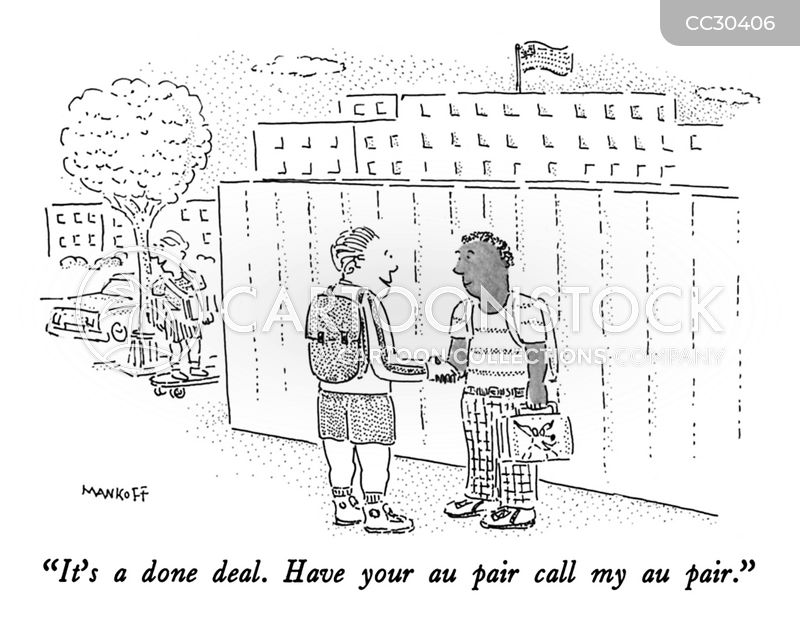 Business Deal cartoon