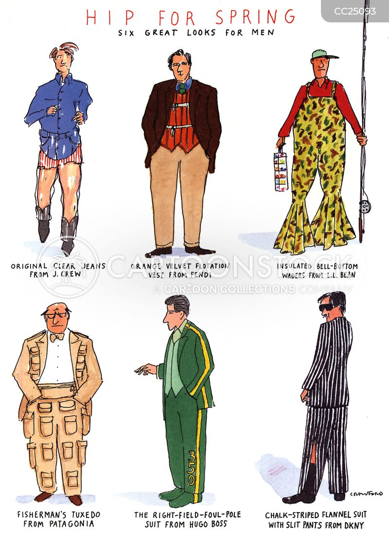 fashion designers cartoon