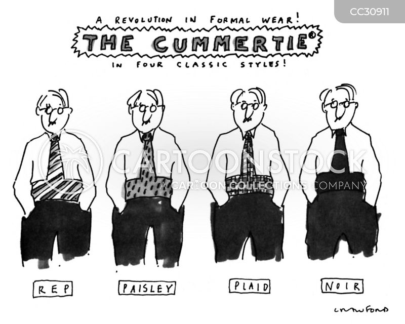 tie cartoon