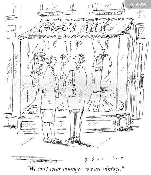vintage cartoon