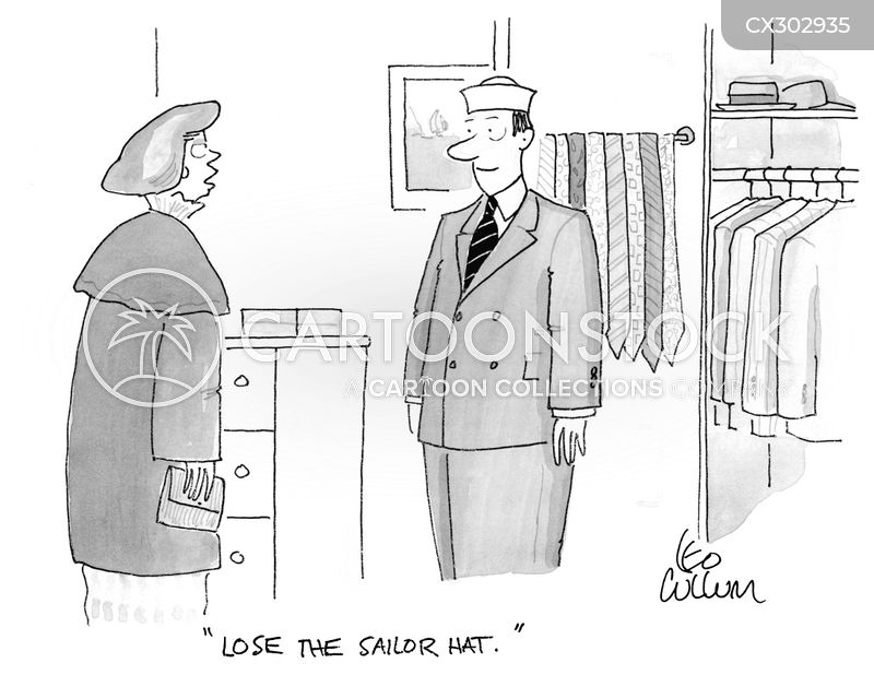 fashion advice cartoon