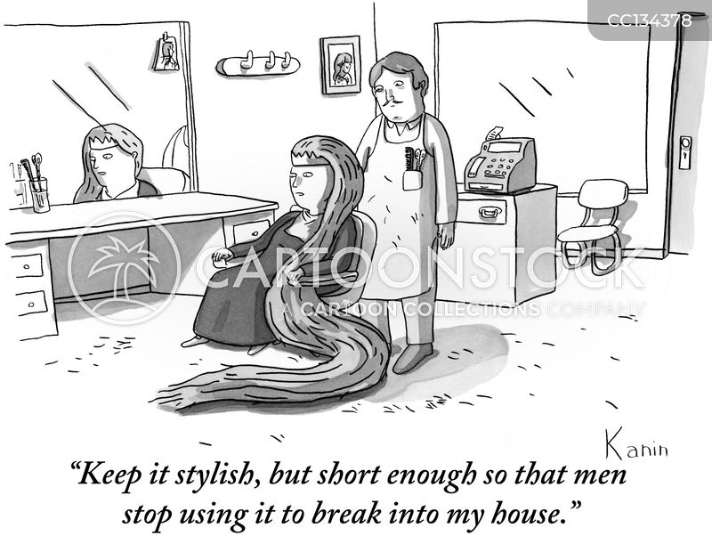 barbershop cartoon
