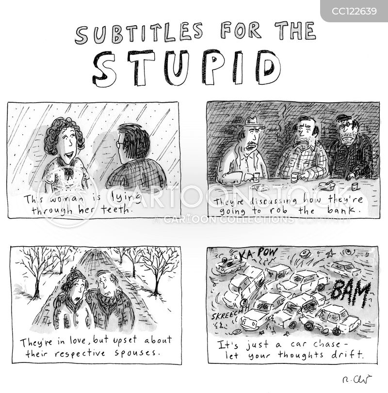 idiots cartoon