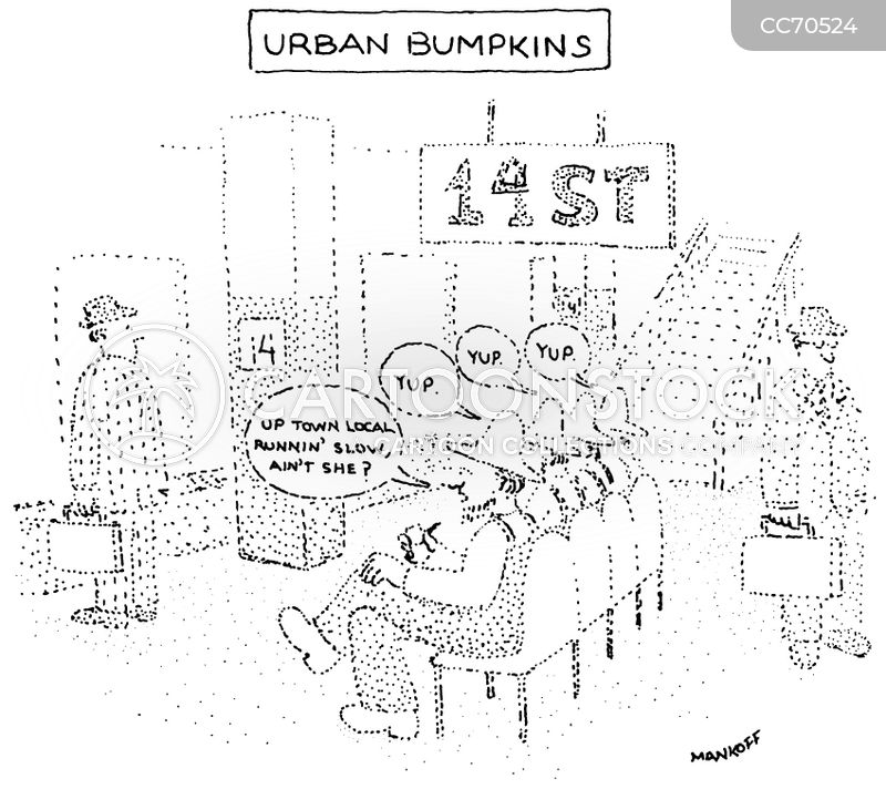 big city cartoon
