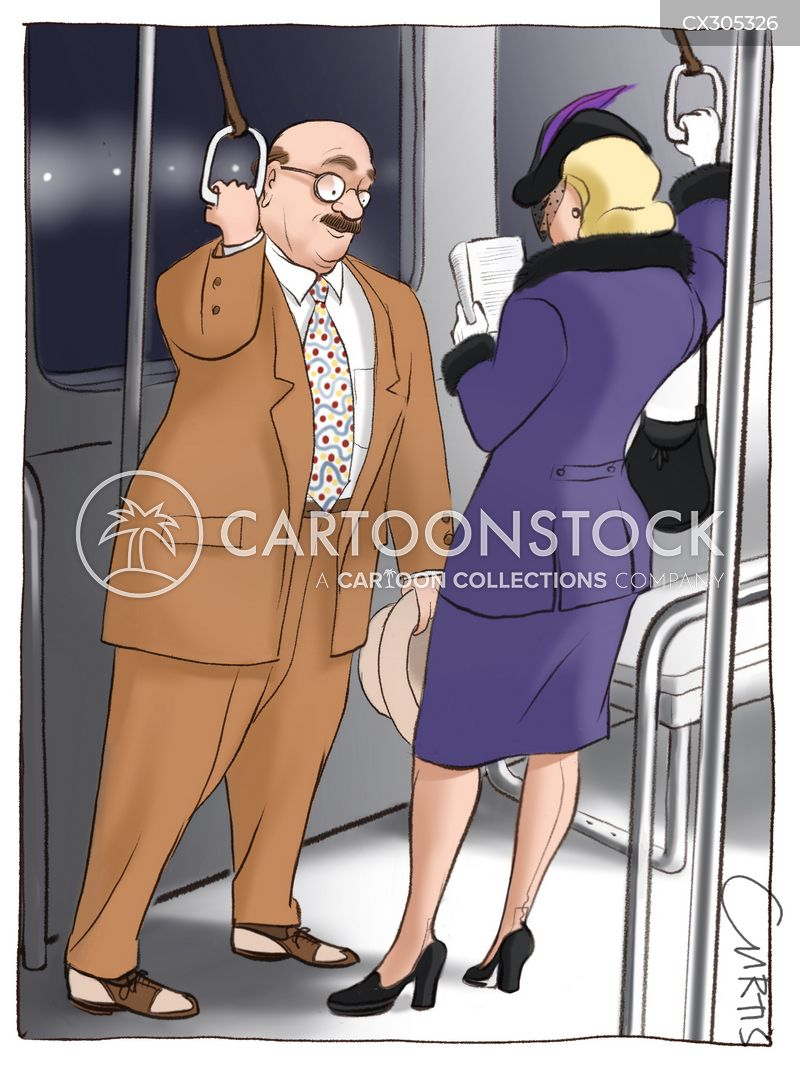 subway trains cartoon