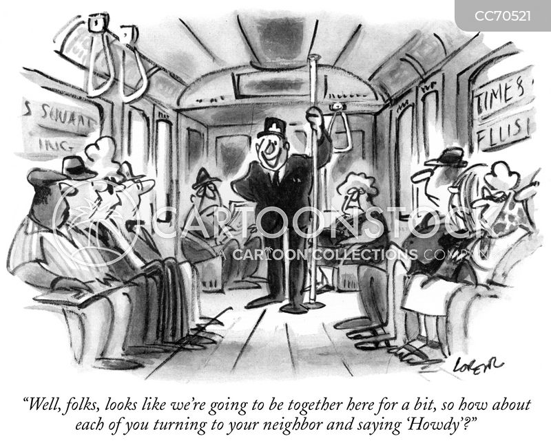 commute cartoon