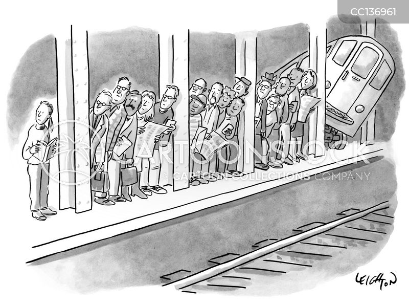 train cars cartoon