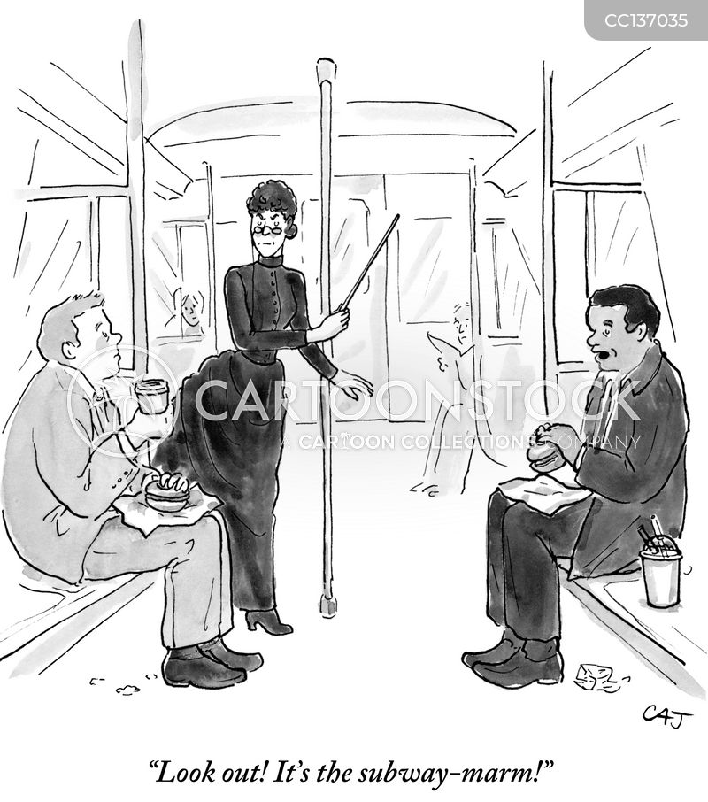 railway cartoon
