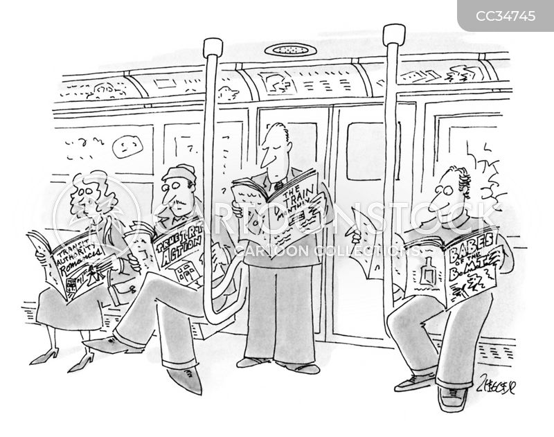 transit authority cartoon