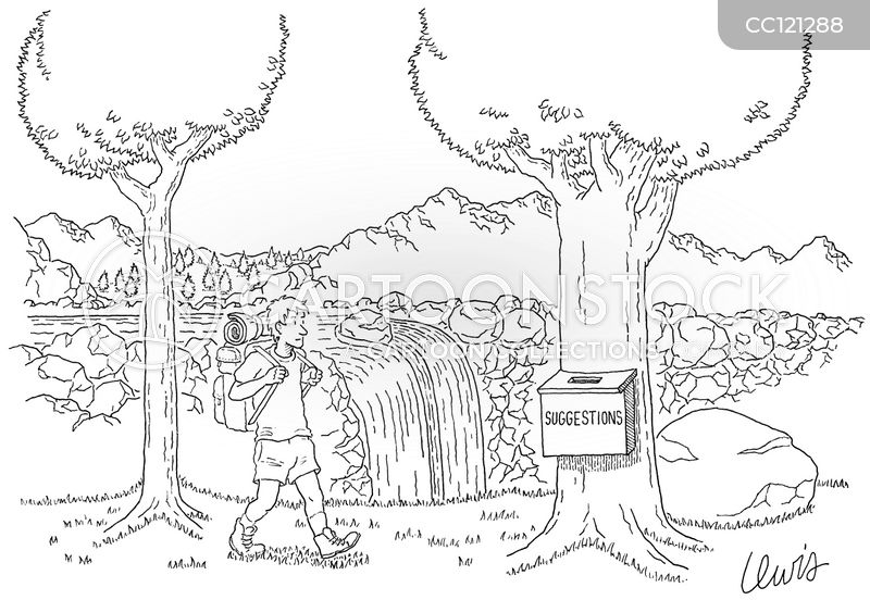 national park cartoon