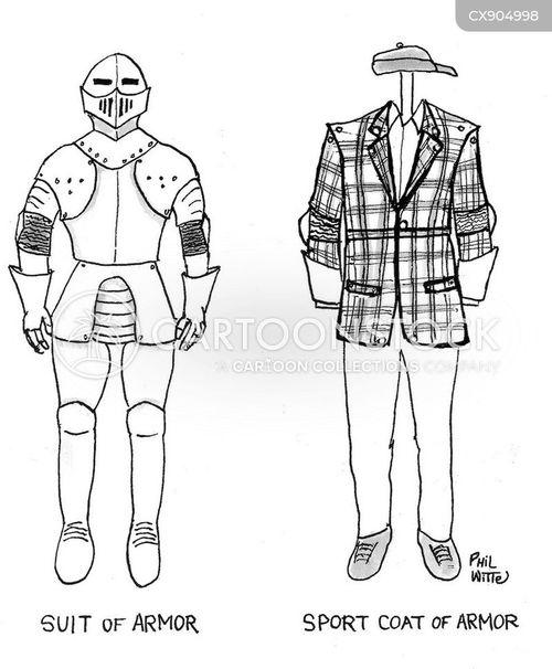 suit of armor cartoon