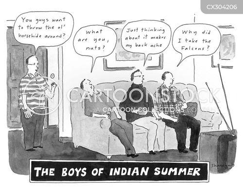 indian summer cartoon