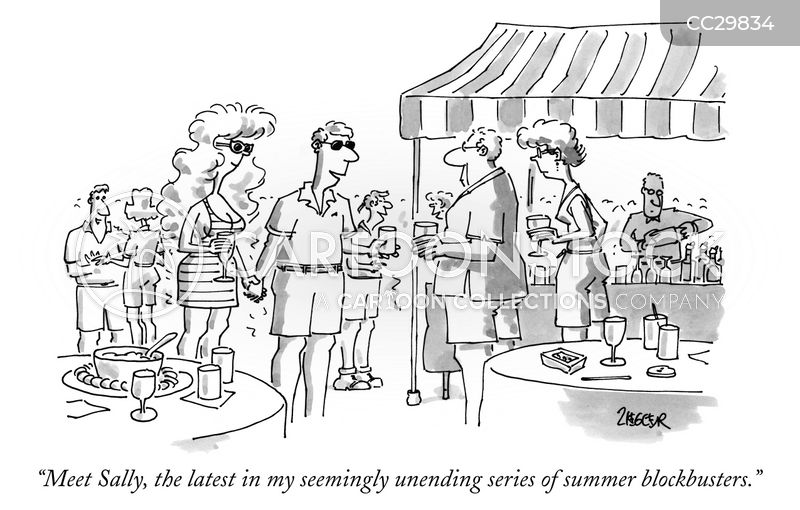 summer blockbusters cartoon