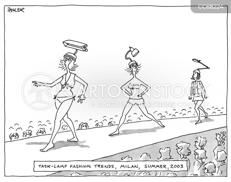 models cartoon