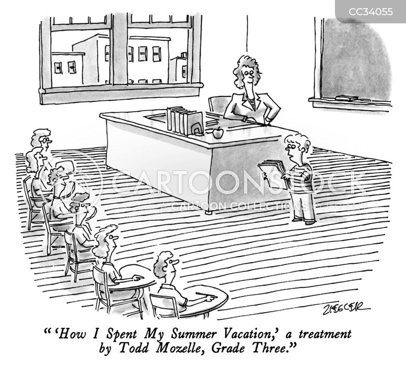 schoolrooms cartoon