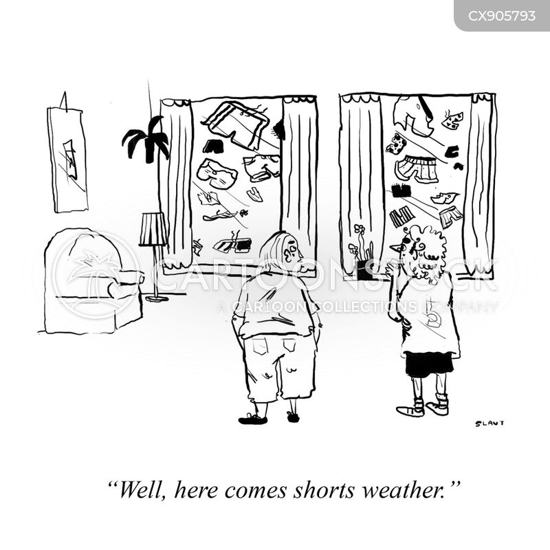 nice weather cartoon
