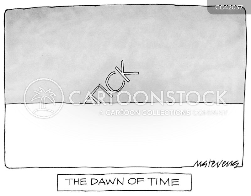 Analogue Clock cartoon