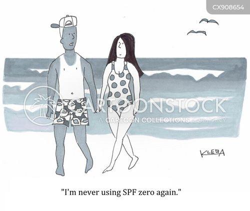 sunscreen cartoon