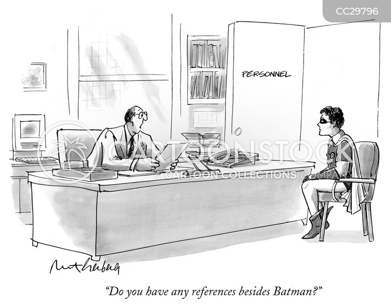 job references cartoon