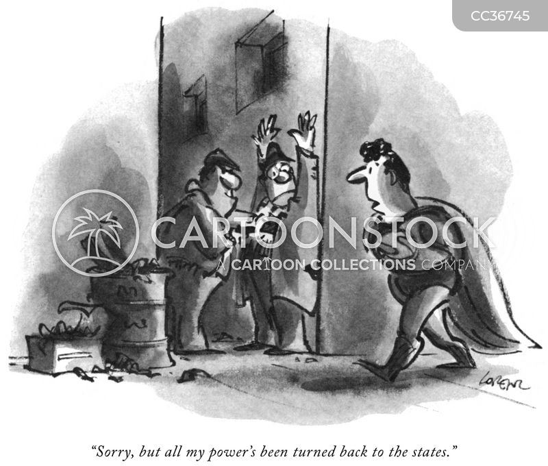 federal power cartoon