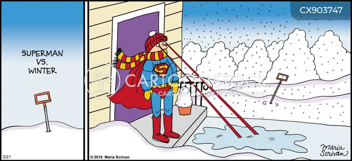 winter weather cartoon