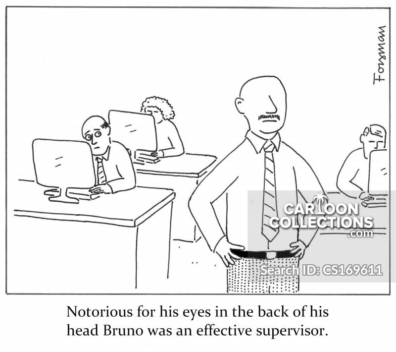 Close Supervision cartoon