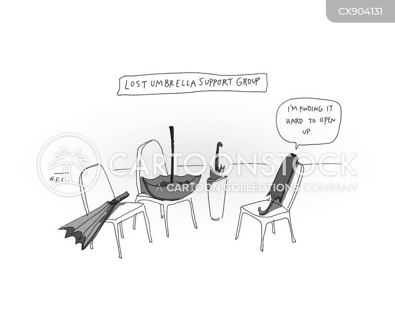 therapy groups cartoon
