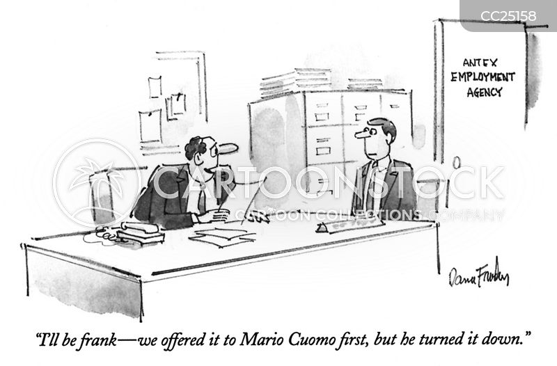 hiring officers cartoon